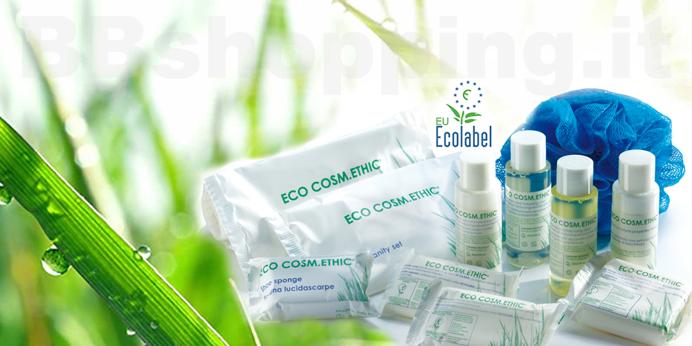 Accessori linea cortesia eco cosm ethic - Kit cortesia bagno ...