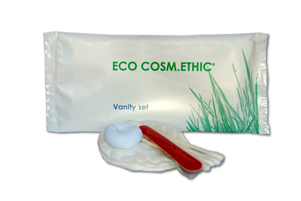 Vanity set in flow pack - Ecologico - Linea Eco Cosm.Ethic