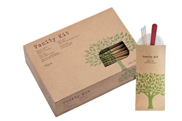 Vanity kit in flow pack - Linea Natura